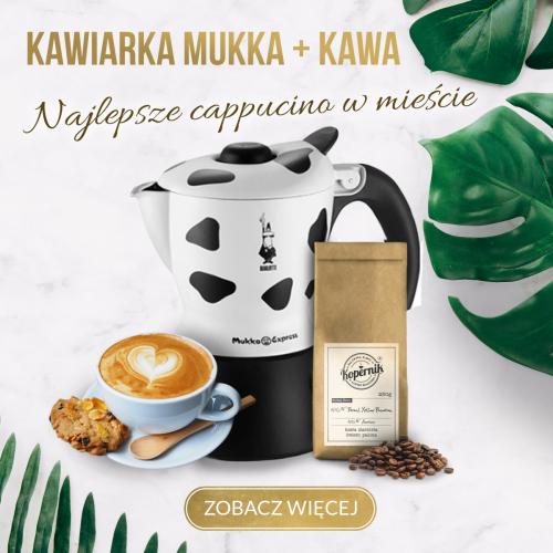 HIT! Kawiarka do Cappuccino Bialetti Mukka Express+ Kawa