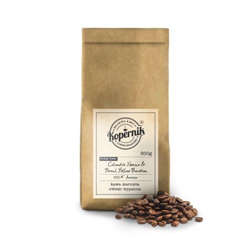 COLOMBIA NARINO & BRAZIL YELLOW BOURBON 500G
