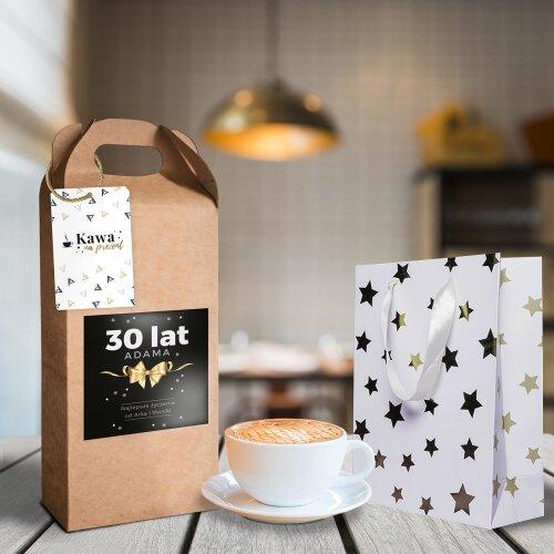 Urodzinowy kuferek z kawą 250g
