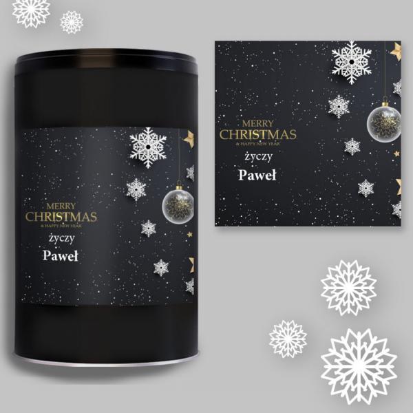 MERRY CHRISTMAS & HAPPY NEW YEAR PUSZKA CZARNA